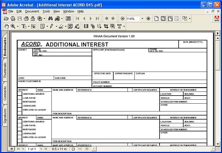 Custom Pdf Forms